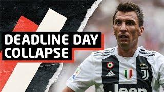 Deadline Day Disgrace!   Man United Transfer News