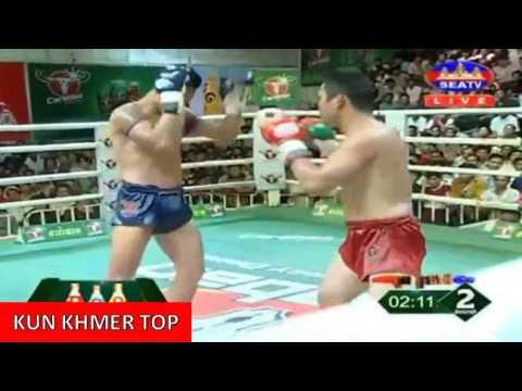 Phan Kron vs Sak Nayper(thai), Khmer Boxing Seatv 25 Mar 2017, Kun Khmer vs Muay Thai