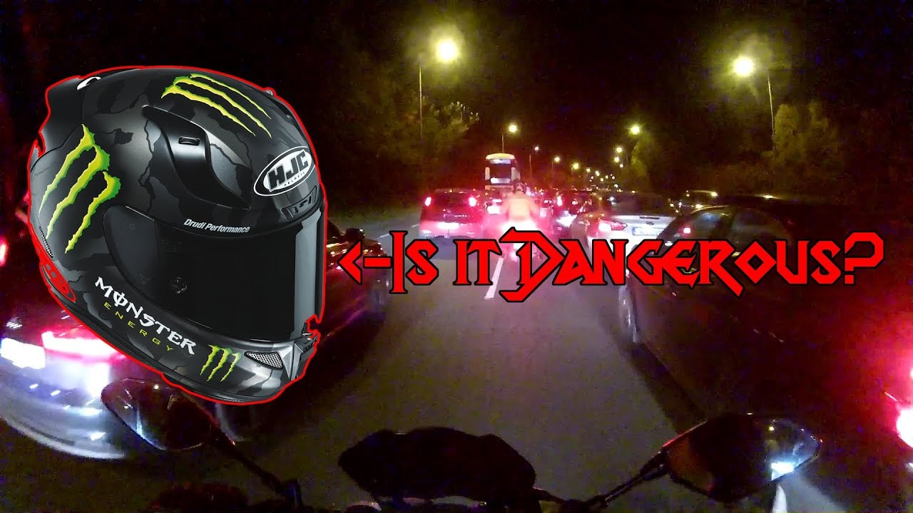 9b01fc90a10 Wearing a tinted VISOR at Night  Is it Safe  - YouTube