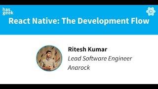 React Native - the development flow