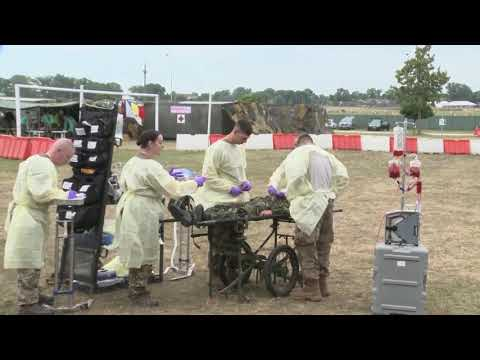 Mass Casualty Exercise, Saber Guardian 2017