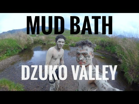 Dzuko valley | Mud bath