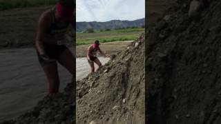 Tanya's private mud pool at the terrain race