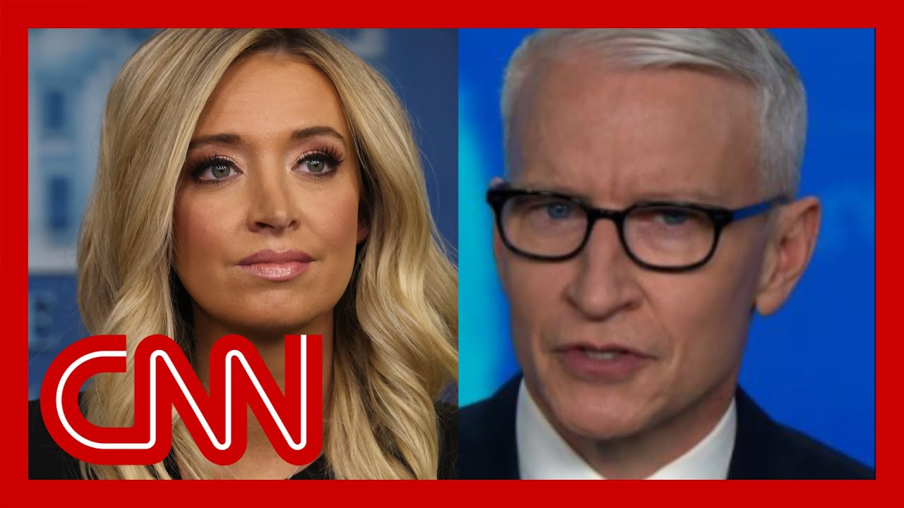 Kayleigh McEnany calls out CNN's Anderson Cooper for falsely ...