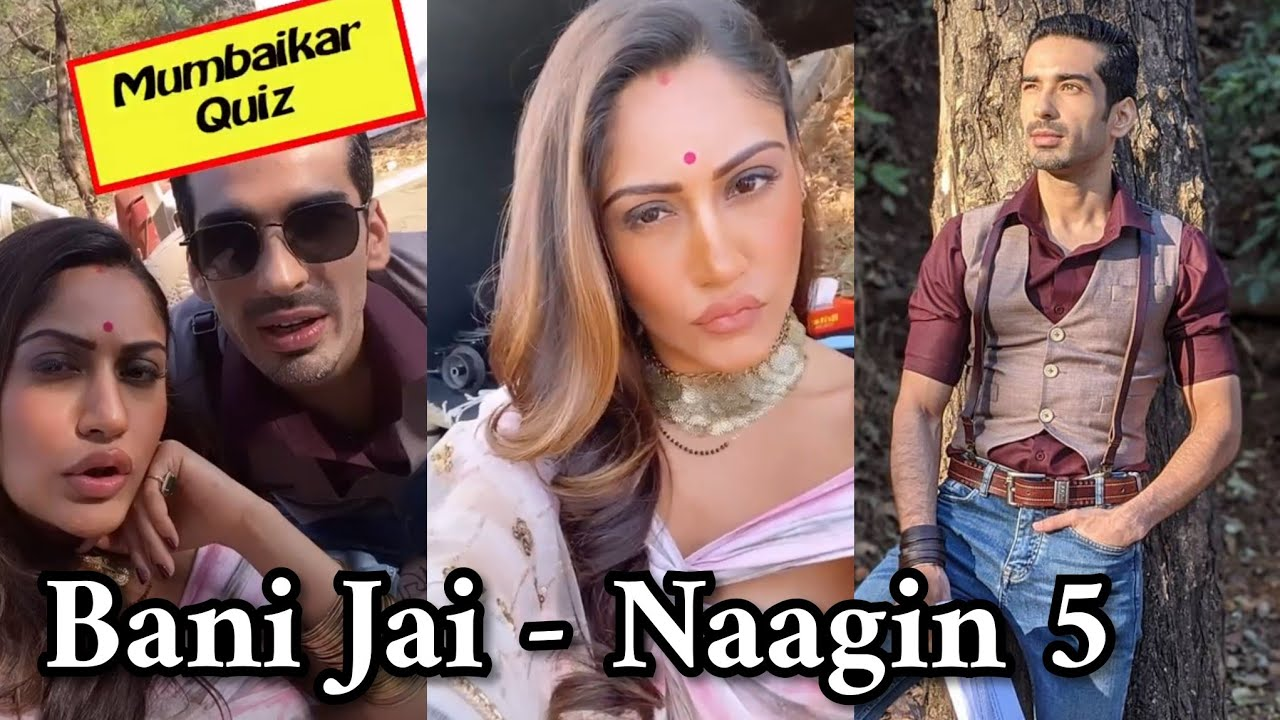 Bani and Jai playing quiz | Naagin 5 Behind The Scenes Telly Updates