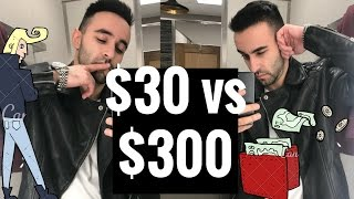 $30 LEATHER JACKET Vs. $300 HOLIDAY SHOPPING VLOGMAS SPECIAL FT LOCUST & WILDHONEY