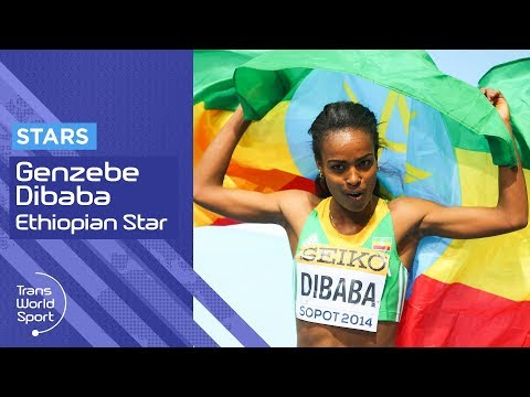 interview with athlete genzebe dibaba diretube video by