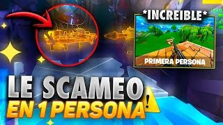 SCAMEO TO 2 CHILDREN RATS IN *FIRST PERSON* SCAMEANDO SCAMERS - Fortnite Save the World