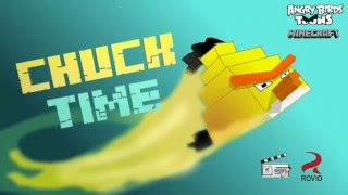 """Angry birds Minecraft """"Chuck time"""" (Minecraft Re-make animation)"""
