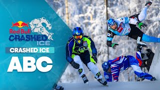 C stands for crashed ice. | ABC of Crashed Ice Part 2