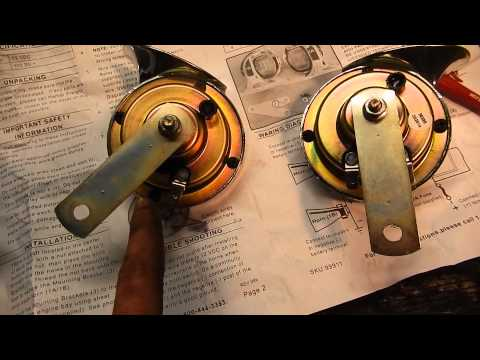 how to fix horn hiace