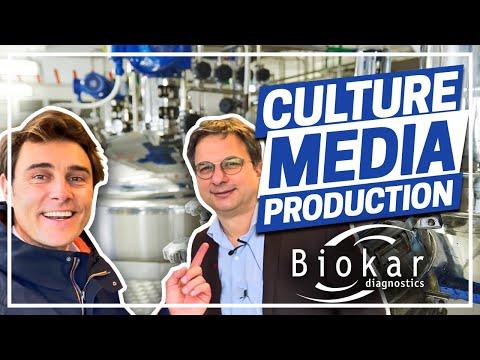 Culture Media Production by BIOKAR Diagnostics