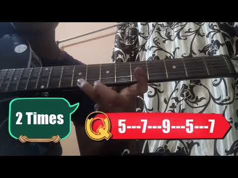 How to Play Tum Hi Ho on Guitar with Single String for Beginners by Gamer4life