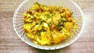 Punjabi Aloo Gobhi Ki Sabzi (potato Cauliflower Vegetable) Recipe