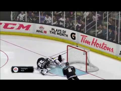 NHL 15: Kings vs Blackhawks (audio/ video test) Part 2/3