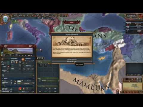 Lets play EU4: Mare Nostrum (The Fezzan Corridors Part 1)