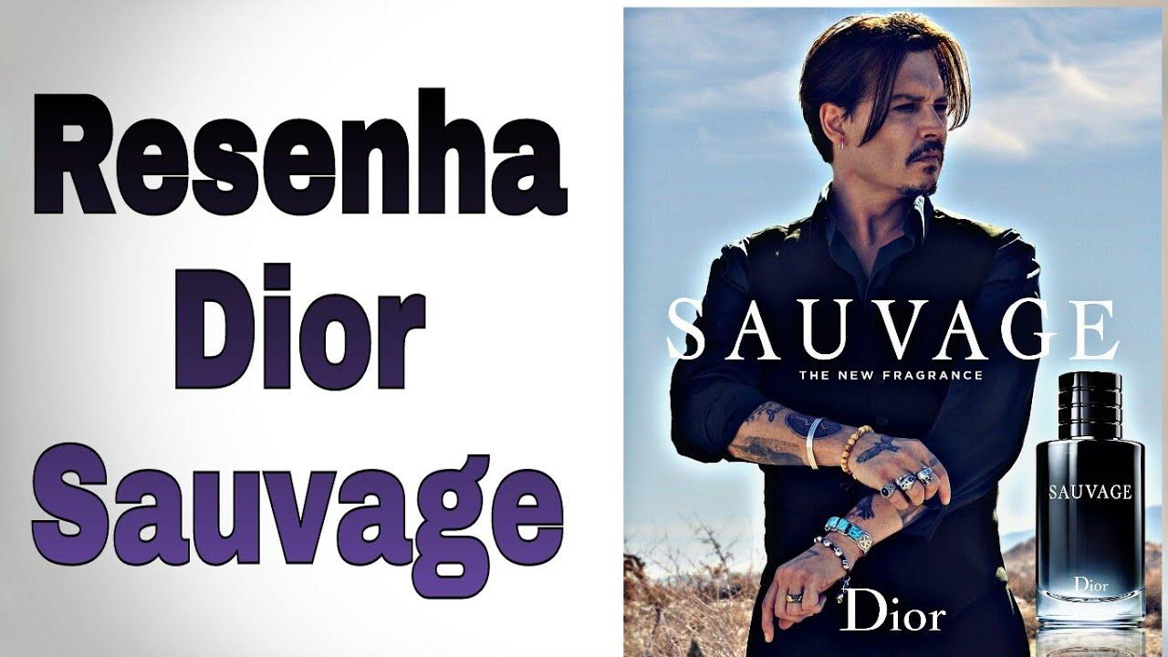 Resenha do perfume Sauvage da casa Christian Dior