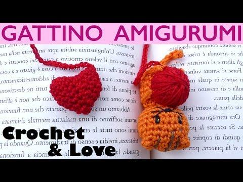 062IT Il tutorial alluncinetto Lepre Gatto e Orso. Amigurumi | Etsy | 360x480