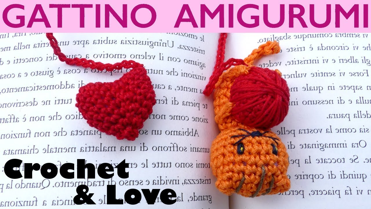 Tutorial uncinetto | Cuore amigurumi | crochet heart amigurumi ... | 720x1280