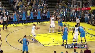 NBA 2K15 Stephen Curry game winning shot