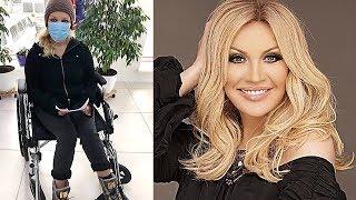 Поклонники молятся за здоровье Таисии Повалий, сидящей в инвалидной коляске