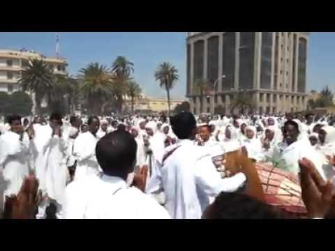 Eritrean Orthodox beal meskel Asmara 2015