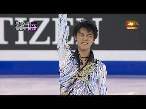 Yuzuru Hanyu FP Final Grand Prix Barcelona 2014