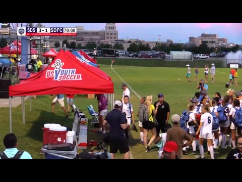 2017 USYS 13G San Diego Surf vs SDFC Yellow Field 5
