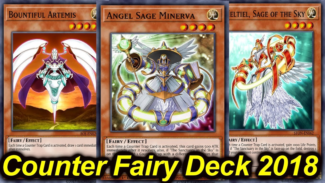 【YGOPRO】COUNTER FAIRY DECK PROFILE 2018