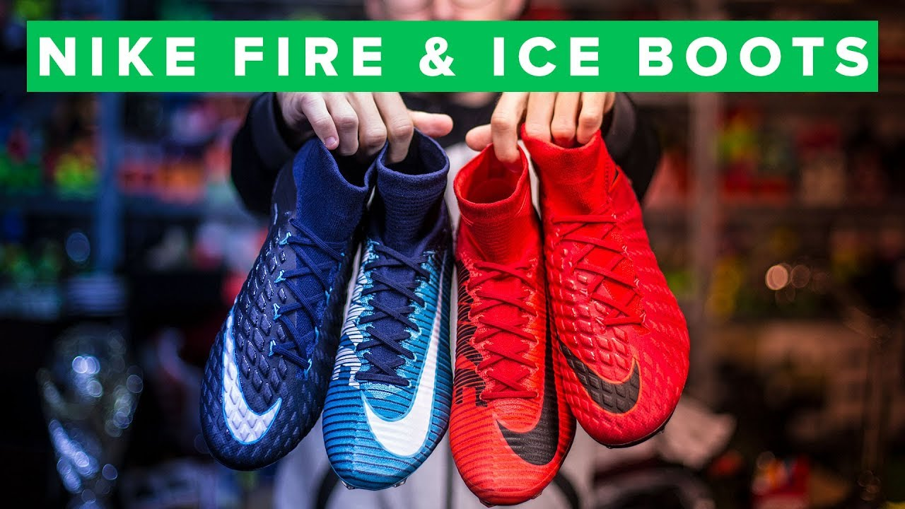 c0ecdc517353 NEW NIKE FIRE & ICE FOOTBALL BOOTS - YouTube