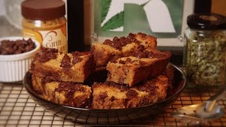 Marijuana Infused Cooking Oil /cannabis Chocolate Peanut Butter Bars: Cooking With Marijuana #25