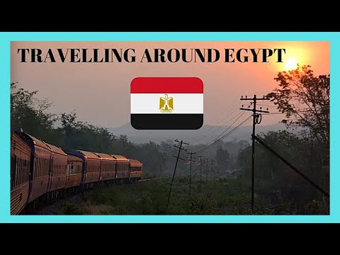 EGYPT, my train ride from CAIRO to ALEXANDRIA