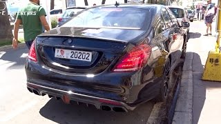 BRABUS Mercedes S 850 SOUND !!!
