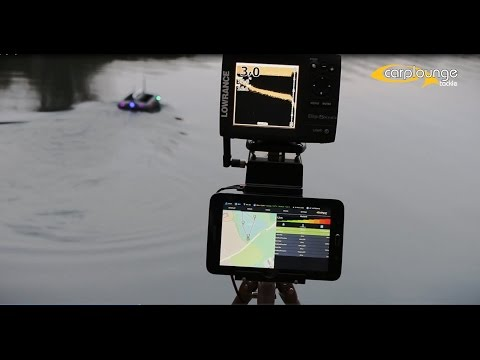 Carplounge RT4 Autopilot Baitboat With Elite5x HDI Futterboot Autoroute Driving