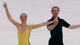 Натали Д алессандро Брюс Уодделл Ритм танец Танцы на льду Кошице Гран при по фигурному катанию