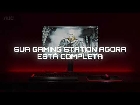 AOC é muito mais do que monitor. Conheça os periféricos gamer!
