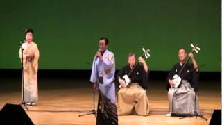 55 三沢峰月・石垣晃(三味線演奏) 『長者の山』歌・斉藤よしあき/お囃子・小倉惠子
