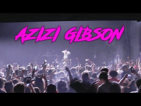 Vlog #6 MY THIRD EYE SPEAKS!!!  AZIZI GIBSON CONCERT AT THE NOVO