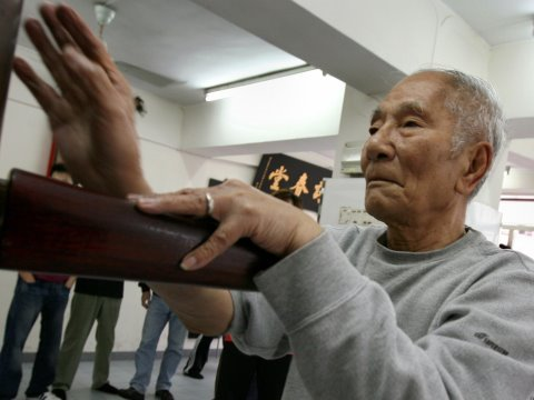 Ip Chun (葉準), 84-year-old Wing Chun legend