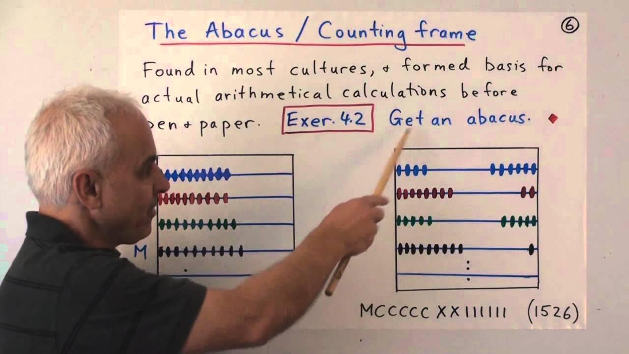 The Hindu-Arabic number system | Elementary Mathematics (K-6) Explained 4 | NJ Wildberger - YouTube
