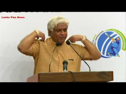 Arjuna Ranathunga talking about current cricket and his time cricket