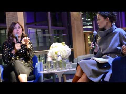 Alexandra Shulman Vogue Editor interviewed on writing a book | Selfridges 2016 | STYLEetc.