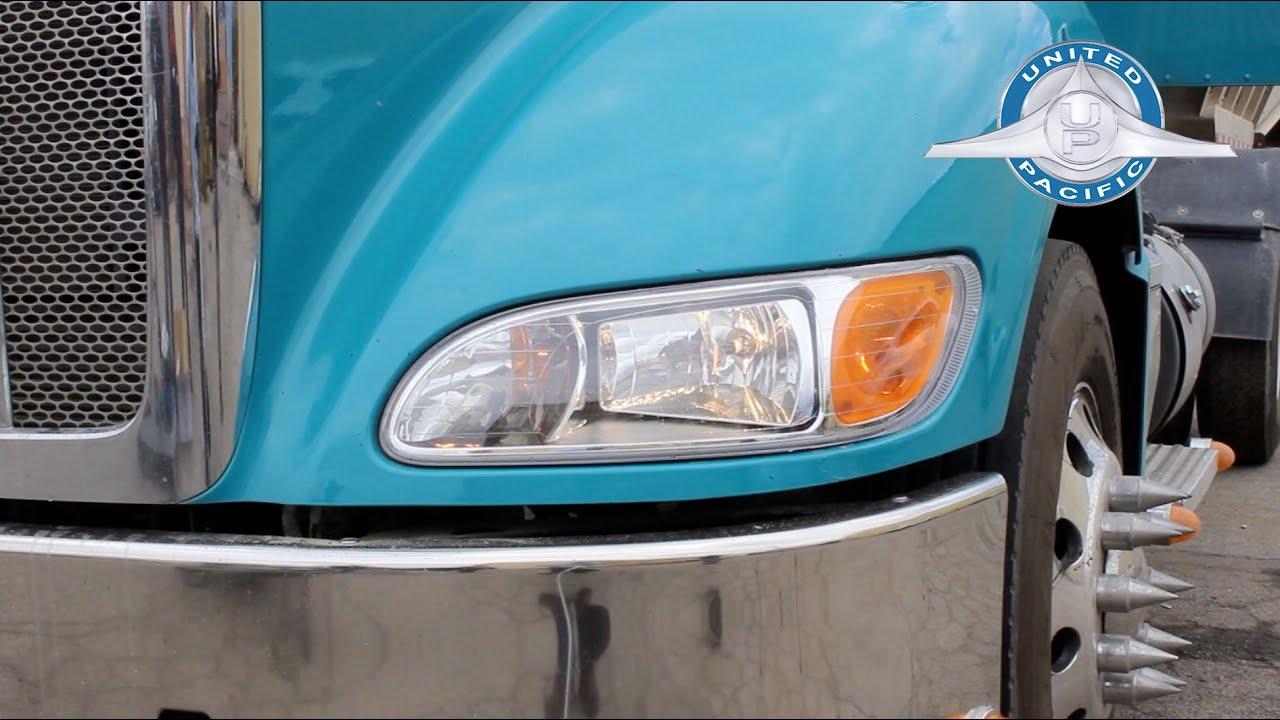 peterbilt 386 387 headlight installation tutorial [ 1280 x 720 Pixel ]