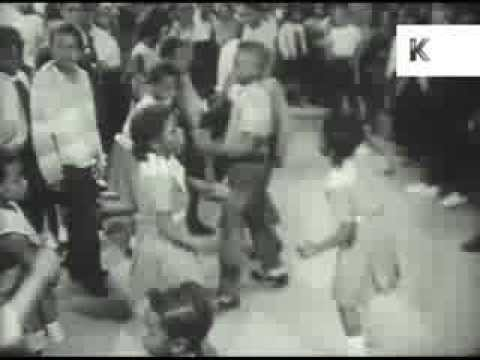 1960s Harlem Kids Rock and Roll Dancing, New York, USA