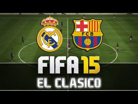 Fifa 15 | Real Madrid vs. FC Barcelona - El Clasico | FULL Gameplay | by PatrickHDxGaming