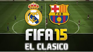 Fifa 15 | Real Madrid vs. FC Barcelona - El Clasico | FULL Gameplay | by PatrickHDxGaming(Please make sure to LIKE + SHARE this video & don't forget to SUBSCRIBE for more! :) Post your opinion in the comments! Fifa 15 Tutorials (english): ..., 2014-09-19T16:51:50.000Z)