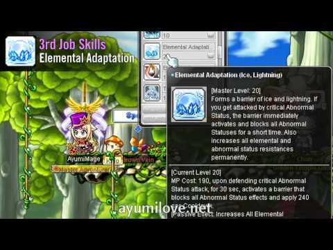 MapleStory Ice Lightning Archmage Skill Build Guide | AyumiLove