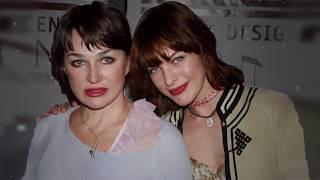 Галина Логинова и Мила Йовович