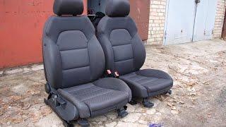 (AA6-3) Audi A6 Sport - передние сиденья