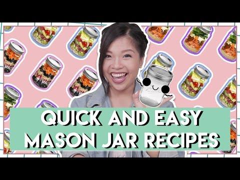 Quick & Easy Mason Jar Recipes  | PrettySmart EP: 79